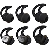 Bose Noise Isolation Silicone Earbuds/Earplug Tips 3 Pairs Size S M L for Bose Earphones Fit Bose QC20 QuietControl 20 QC30 S