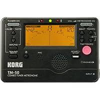 KORG チューナー/メトロノーム TM-50 BK ブラック