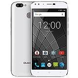 OUKITEL U22 SIMフリースマートフォン 5.5インチ 2GB RAM 16GB ROM Android 7.0 (白)