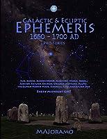 Galactic & Ecliptic Ephemeris 1650 - 1700 AD (Pro Series)