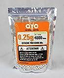 CYC精密バイオBB弾 0.25g 4000発入(生分解性)