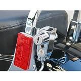 キジマ(Kijima) ヘルメットロック(車種別) ブラック Harley‐davidson:シーシーバープレートへ装着 HD-05138