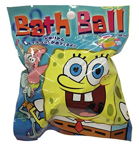 サンタン キャラクターバスボール2 スポンジ・ボブ パインの香り(1コ入)