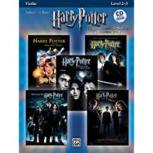 Selections From Harry Potter Instrumental Solos Movies 1-5: Violin/ Piano Accompaniment
