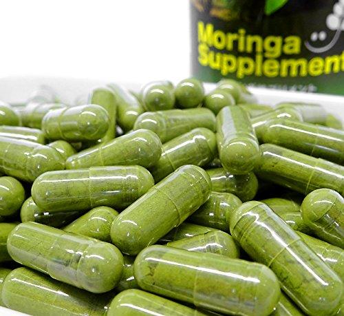 無農薬・無化学肥料のモリンガ葉100%使用 モリンガサプリメント(1カプセル230mg×200カプセル)
