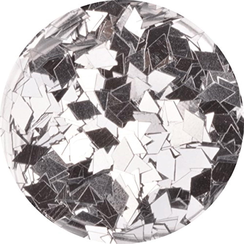 ウェーハ男らしさ学習者ひし形 ダイヤ型 ホログラム 選べる12色 (09.シルバー)