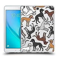 Head Case Designs サルキス ドックブリード・パターン9 Samsung Galaxy Tab A 9.7 専用ソフトジェルケース