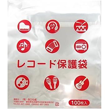 (有)田口化成 LP OPP0.04mm テープ付き袋 テープ本体側付き 国内加工 100枚
