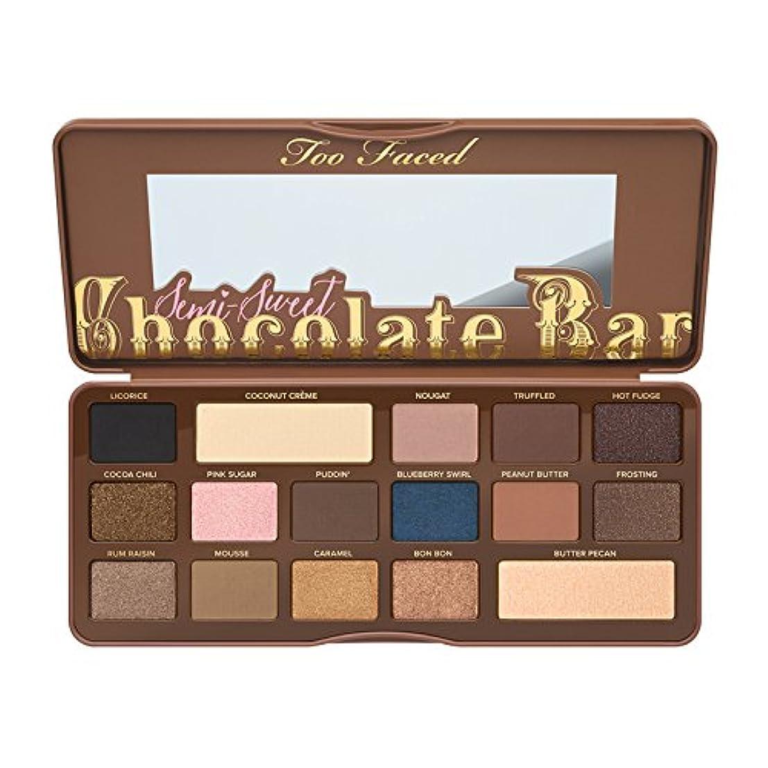 体気分が悪い直立Too Faced Semi-Sweet Chocolate Bar Eye Shadow Collection (並行輸入品) [並行輸入品]