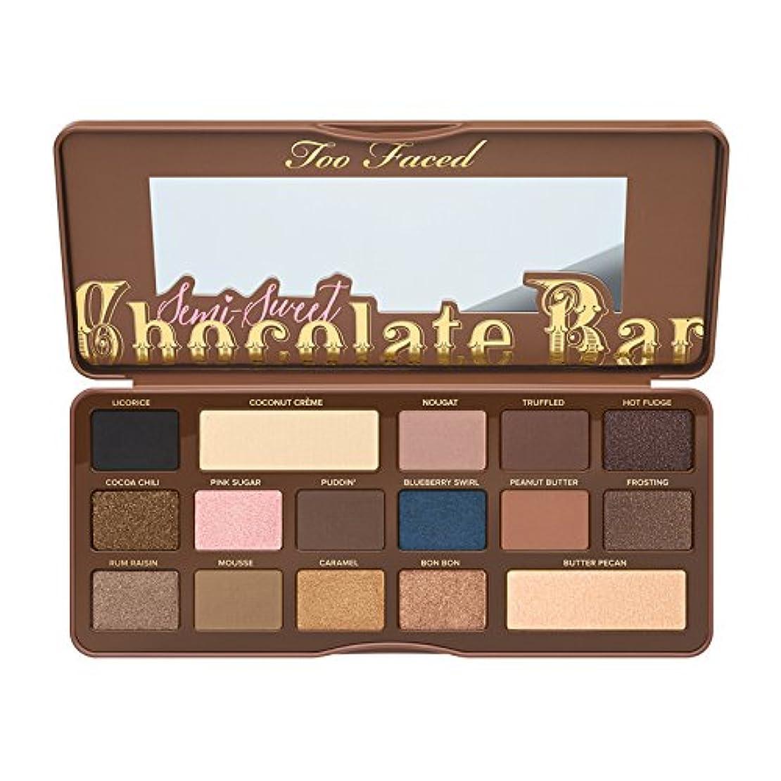 バイナリ定常気絶させるToo Faced Semi-Sweet Chocolate Bar Eye Shadow Collection (並行輸入品) [並行輸入品]
