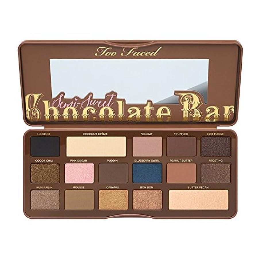モットーメッセンジャー毒液Too Faced Semi-Sweet Chocolate Bar Eye Shadow Collection (並行輸入品) [並行輸入品]
