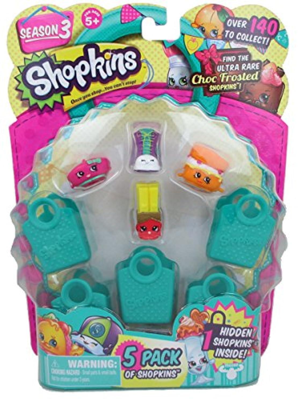 Shopkins Season 3 (5 Pack) Set 42