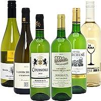 シニアソムリエ厳選 直輸入 白ワイン6本セット((W0AFF7SE))(750mlx6本ワインセット)