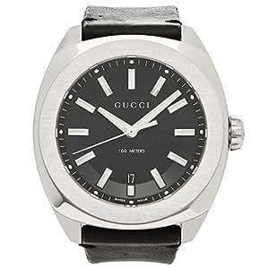 [グッチ] 腕時計 メンズ GUCCI YA142206 ブラック シルバー [並行輸入品]