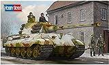 ホビーボス 1/35 ファイティングヴィークルシリーズ ドイツ軍 重戦車キングタイガー (ヘンシェル砲塔) 最後期仕様 プラモデル 84532