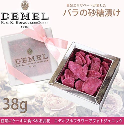 デメル バラの砂糖漬け 38g DEMEL 皇妃エリザベートが愛したお菓子 ...
