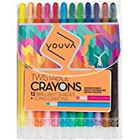 Navneet youva Twistableクレヨン( Pack of 12 )