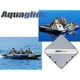 4人乗り 【トーイングチューブ】 【ロープ付き】 【フロートデッキ】 Aquaglide(アクアグライド) エアーポート