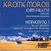 Jerome Moross: Symphony No. 1 by London Symphony Orchestra (2013-02-12)