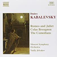 Kabalevsky: Romeo & Juliet / Colas Breugnon / The Comedians (1996-09-17)