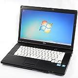Office2016 搭載モデル + 新品SSD240GB搭載可能 FUJITSU 富士通 LIFEBOOK A561 シリーズ 新 Celeron B710(1.60GHz) / 15.6型液晶 Windows7 Professional 中古パソコン 中古ノートパソコン(HDD:160GB/RAM:4GB 『Win7 32bit』)