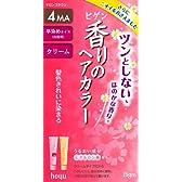 ホーユー ビゲン 香りのヘアカラー クリーム 4MA (マロンブラウン) 40g+40g