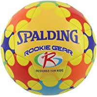Spalding Rookie Gear Soccer Ball – Yellow – Size 3カラー:イエロー、モデル64 – 818 , Toys & Play