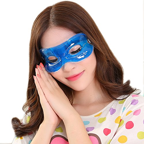 L-EYE 温冷両用アイマスク 睡眠アイマスク 目の浮腫みやク...