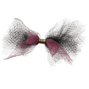 [ジョエル ガニャール] Joelle Gagnard tulle ribbon barrette Joe14SP-L03 black
