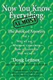 Now You Know Almost Everything: The Book of Answers, Vol. 3 (English Edition) 画像