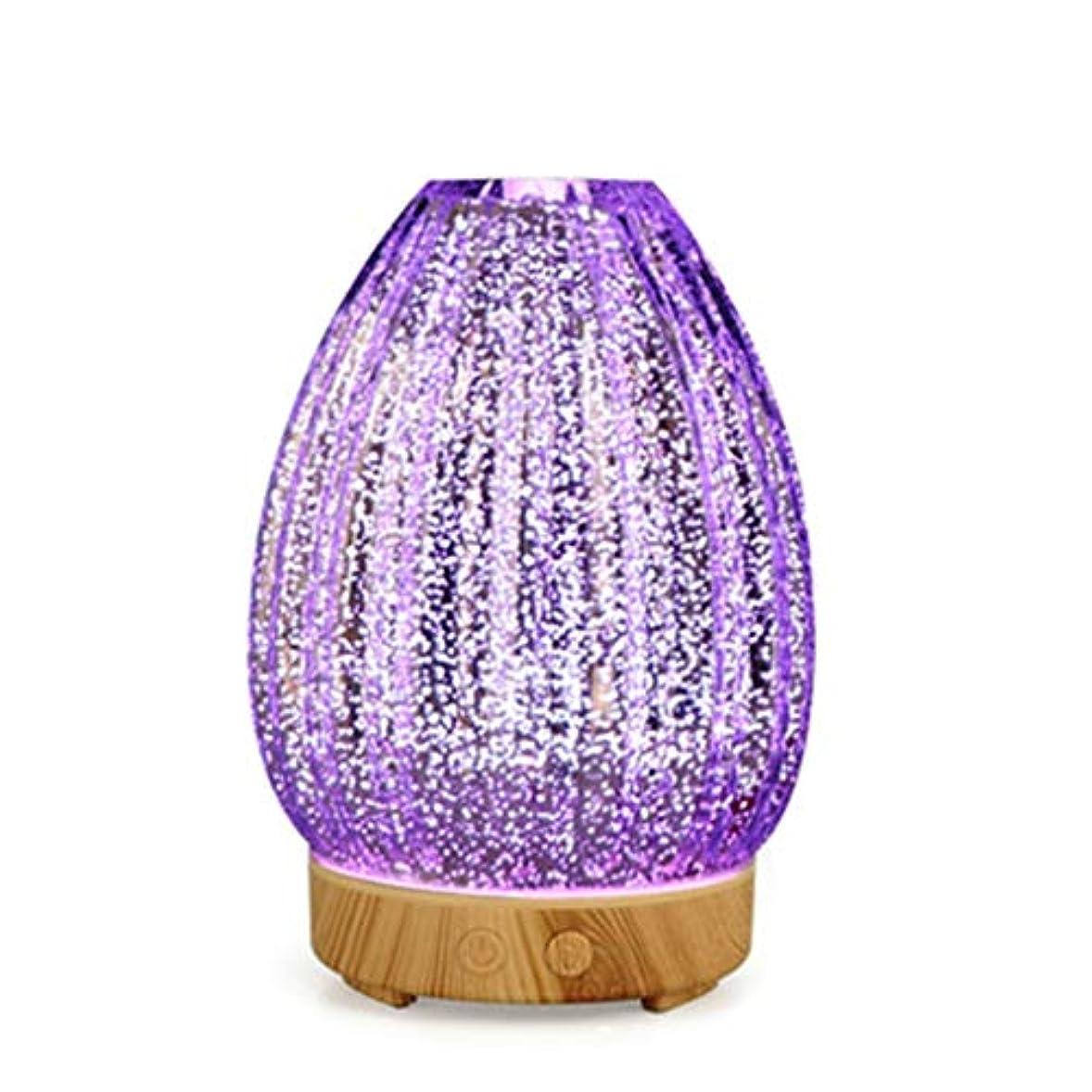 解放する喉が渇いた構造的クールミスト空気加湿器、ウォーターフリーオートクローズ、7 LEDカラー変更ライト付き、寝室のベビーレディの家の装飾に適して (Color : Light wood grain)
