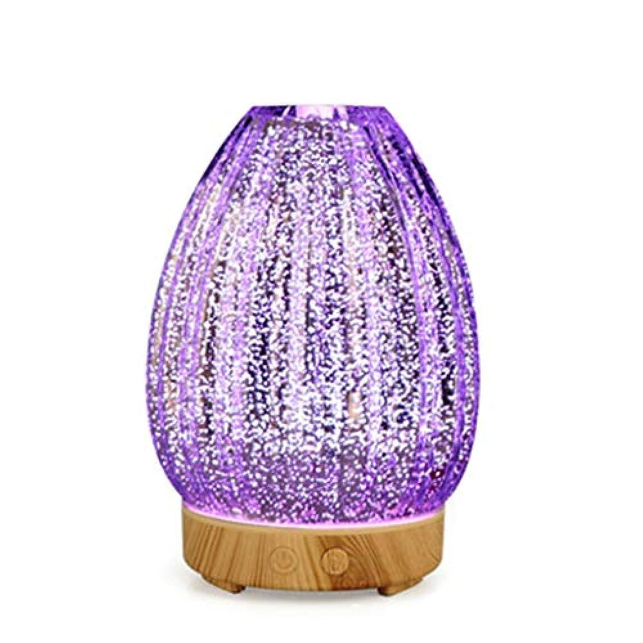 発表底スプレークールミスト空気加湿器、ウォーターフリーオートクローズ、7 LEDカラー変更ライト付き、寝室のベビーレディの家の装飾に適して (Color : Light wood grain)