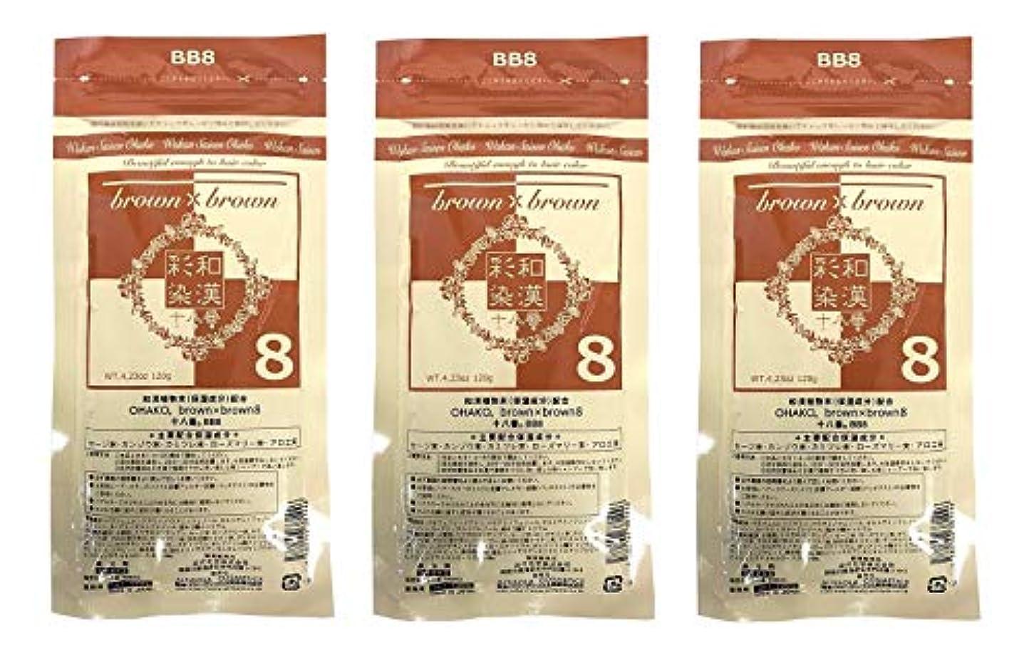メインビルマ湿地【3個セット】グランデックス 和漢彩染 十八番 120g BB8