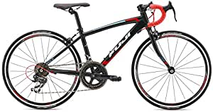 FUJI(フジ) ACE 24 キッズバイク 2016年モデル サイズ:13.5 [14SPEED、アルミフレーム、24インチ] ブラック/レッド 16AC24BK34
