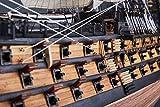純手工芸品コレクション勝利号木質シミュレーション船モデル展 纯手工收藏胜利号木质仿真古帆船船模摆件展览级(A) 画像