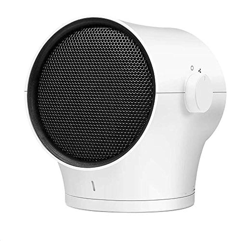 ブランク早める時折デスクヒーター、60を加熱、冷却度調査、1000Wの場合は、自動電源オフデザインのダンプ、屋内ヘッド3スピード調節可能なサイレントヒーターを振ります (Color : White)