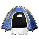 テント OUTAD 六角テント 3-4人用超大キャンプテント ハイキング 防水