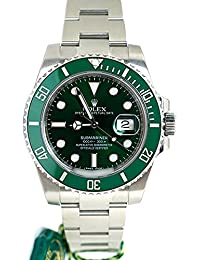 Rolex Submariner Date 40mmグリーンダイヤルメンズ腕時計116610