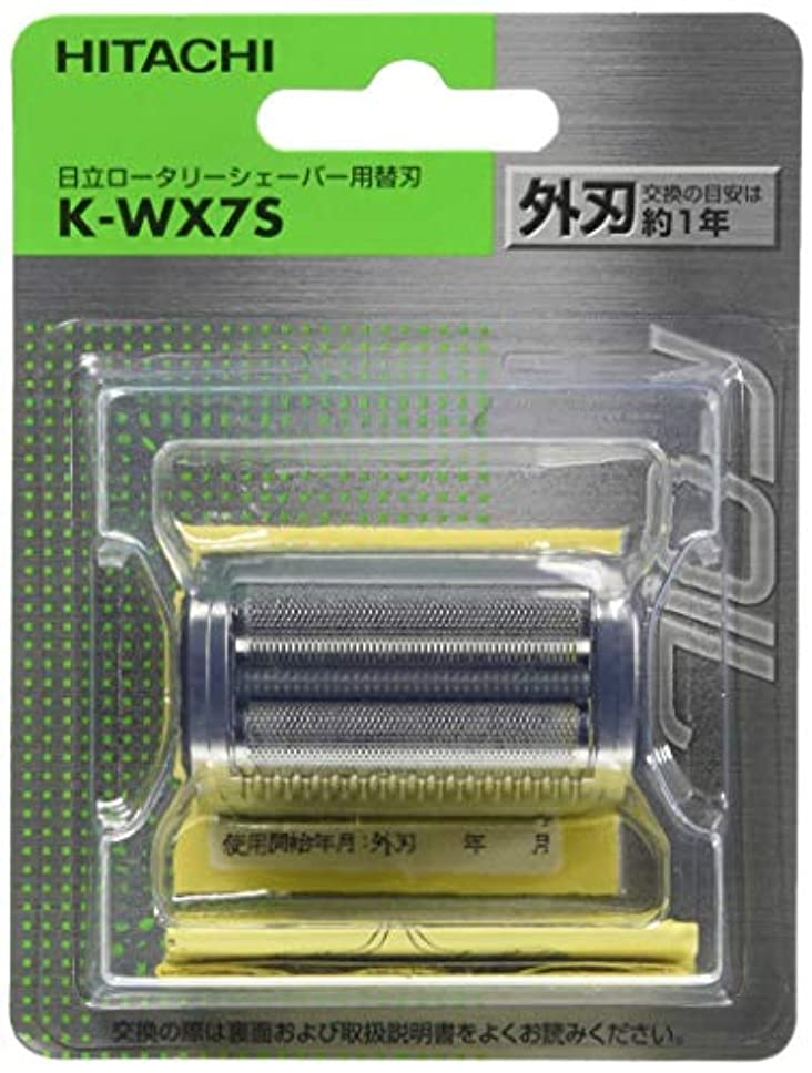 精神医学取得する剛性日立 替刃 外刃 K-WX7S