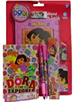 Fun Dora The Explorer Personalized Diary with Lock + Stationeryセット