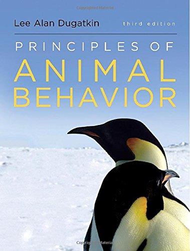 Download Principles of Animal Behavior 0393920453