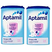 Aptamil(アプタミル) 乳児用粉ミルク 【0~6カ月の食欲旺盛な赤ちゃん向け】 900g x 2