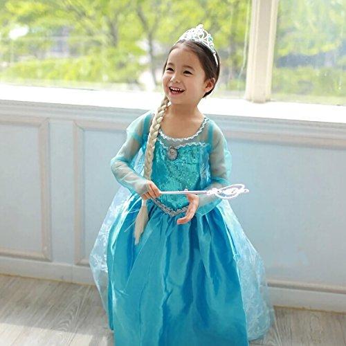 cotie アナと雪の女王 エルサ風ドレス 子供用 ドレス ...