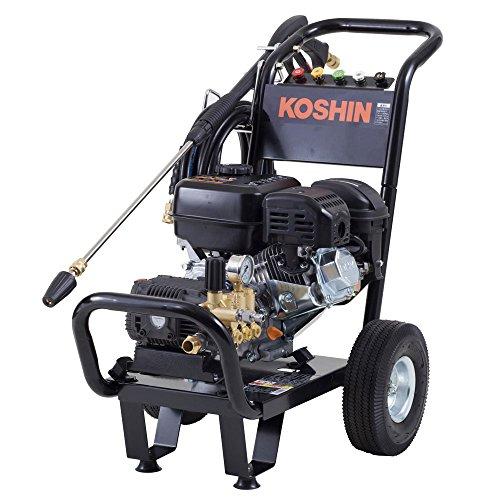 工進 エンジン式高圧洗浄機 15mpa 車輪付タイプ JCE-...
