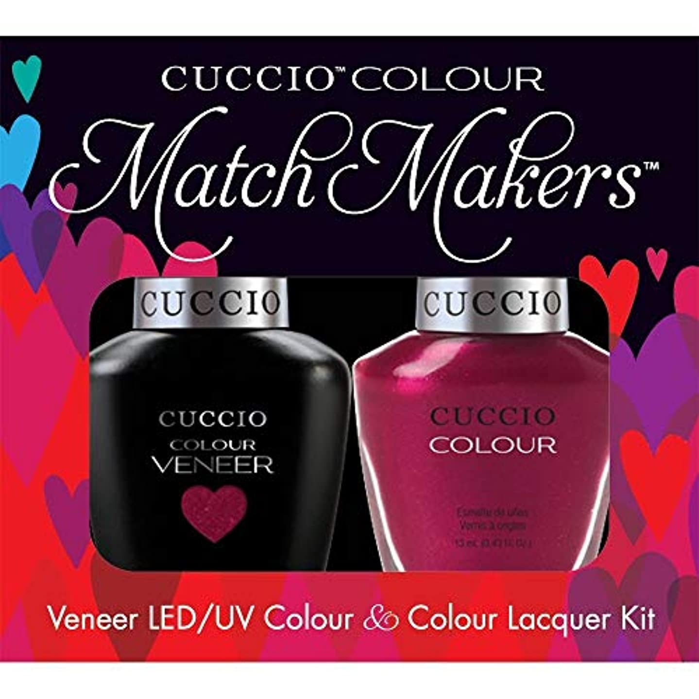 真面目な職業ノベルティCuccio MatchMakers Veneer & Lacquer - Call in Calgary - 0.43oz/13ml Each