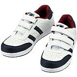 自重堂/Z-DRAGON/先芯入り作業靴 スニーカータイプ/セーフティシューズ(マジックタイプ) カラー:037_ホワイト サイズ:23.0cm 品番:S3172