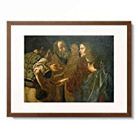 Cecco del Caravaggio 「The Coin」 額装アート作品