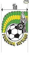 Fortuna SittardオランダサッカーフットボールクラブFC 2ステッカー車バンパーウィンドウステッカーデカール大18インチ