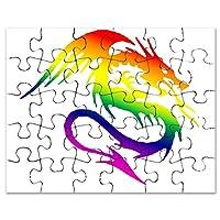 CafePress–ドラゴン1–ジグソーパズル、30個。