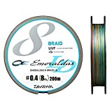 ダイワ ライン UVF エメラルダスセンサー 8ブレイドLD+Si 200m 0.4号